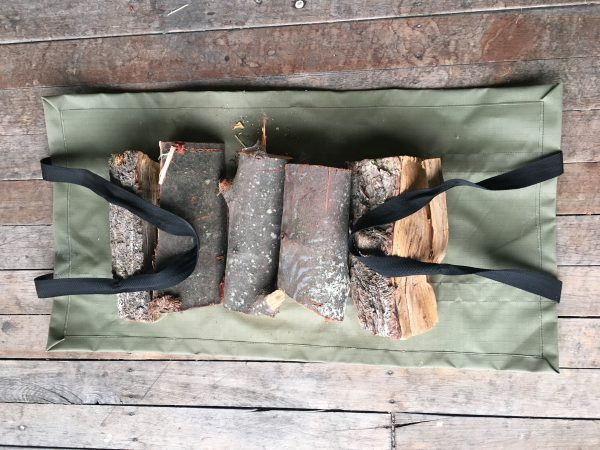 Wood carry bag